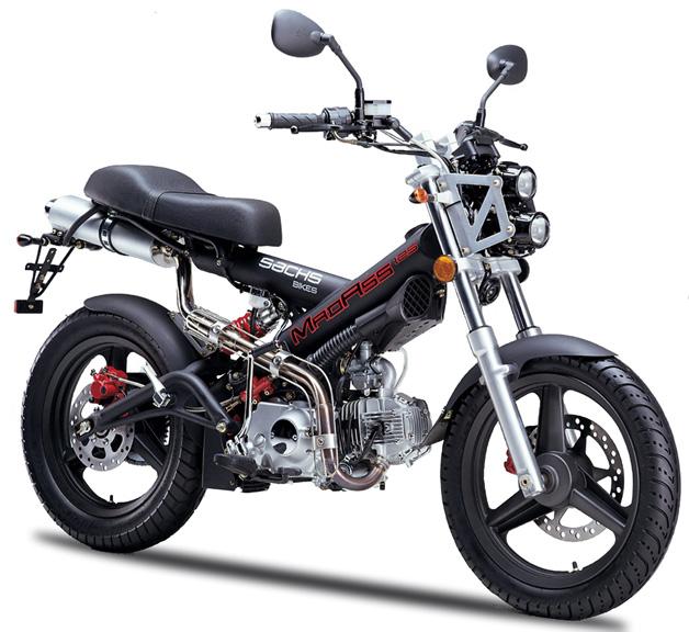A Sachs MadAss 125cc, tem um desing arrojado e tecnologia alemã.