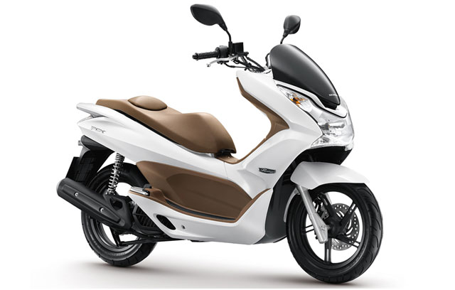pcx125 honda 640x408 PCX 125i, o scooter global da Honda