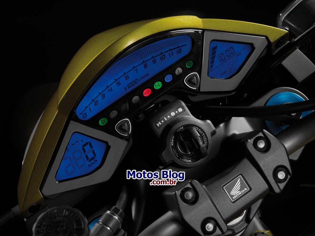 honda cb1000r instrument panel BOMBA: Adeus Hornet – Honda CB 1000 R em 2011!